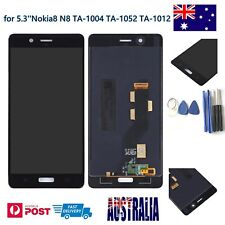 LCD Display Touch screen Assembly for 5.3''Nokia8 N8 TA-1004 TA-1052 TA-1012 AU