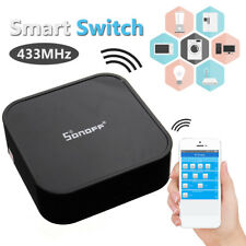Pro Sonoff Smart Switch RF Bridge 433MHz Wifi App Remote DIY Timer Smart Home