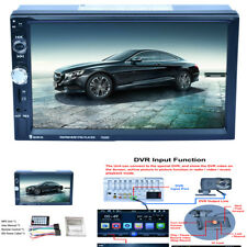 7'' HD 1080P 2-DIN Capacitive Touch Screen Car MP5 Player Bluetooth Audio Stereo