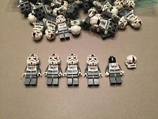 Lego Star Wars lot of 5 AT-AT Driver minifig minifigures Hoth clone 8129 8084