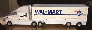 "Vintage Walmart Sams Club 18 Wheeler Truck Semi Tractor Trailer Toy 23"" Long"