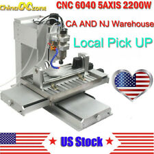 6040 5axis Cnc 22kw Router Engraving Usb Port Machine Metal Milling Machine