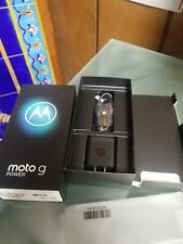 Motorola Moto G power Box With Oem Accessories Only