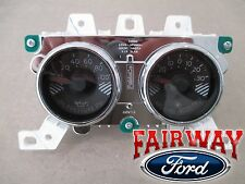 15 thru 17 Mustang OEM Genuine Ford Boost & Oil Pressure Gauge Dash Cluster Pod