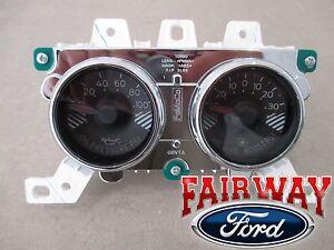 15 thru 17 Mustang OEM Genuine Ford Boost & Oil Pressure Gauge Dash Cluster Pod