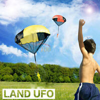 Kids Children Tangle Free Toy Hand Throwing Parachute Kite Outdoor Play Game Toy