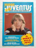HURRA' JUVENTUS N. 3 MARZO 1984 DERBY TORINO MICHEL PLATINI BONINI TRAPATTONI