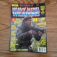 Guns Magazine 1992 Annual of Heavy Metal Weapons  C35