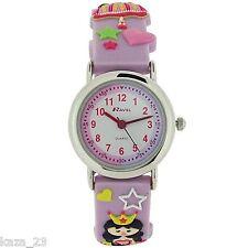 Ravel Princess Design Time Teacher White Dial Kids Watch R1513.37