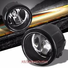 Clear Lens Replacement Bumper Round Fog Light Lamp+Bulb For 06+ Nissan/Infiniti