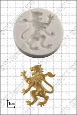 Stampo in silicone LEONE RAMPANTE (sinistra)   uso alimentare FPC Sugarcraft spedizione gratuita in UK!