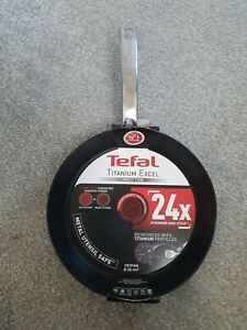Tefal Titanium Excel 28cm Induction Pan Brand New Minor Imperfection
