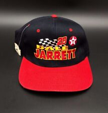 Dale Jarrett #28 Texaco Racing Adjustable Hat NASCAR New Black Red