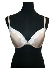 Calvin Klein Women's Push-Up Bra, Color: Beige and White, Size: 36C