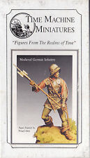 TIME MACHINE MINIATURES - TMP-12 - 54mm MEDIEVAL GERMAN INFANTRY 1500