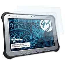 Bruni 2x Schermfolie voor Panasonic ToughPad FZ-G1 Screen Protector