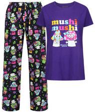 Pijamas y batas de mujer conjuntos de color principal negro