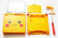 Game Boy Advance SP GBA SP Pikachu Housing Kit Shell - UK Dispatch