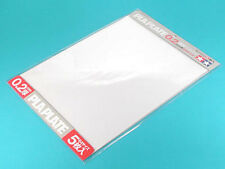 Fun tool series 126 Pla Plate Clear 0.2mm B4 size 5 Sheets 70126 Tamiya