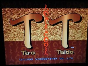 Tao Taido ORIGINAL RARE  JAMMA ARCADE PCB By VIDEO SYSTEM CO. LTD