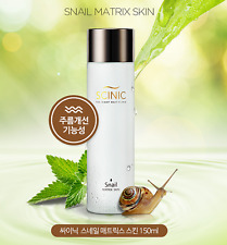 [Scinic] Snail Matrix Toner 150ml / Anti-Wrinkle & Moisturizing / Made in Korea