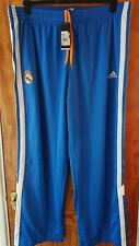 Adidas Real Madrid Chándal Bottoms poppers 2XL BNWT