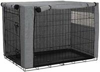 Dog Crate Cover, Durable Windproof Pet Kennel Cover Provided for Wire