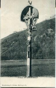 AK Kreuz im Schwarzwald, Verlag Röbcke in Freiburg um 1900