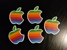 1 x RETRO APPLE STICKER - LAPTOP