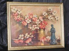stunning vintage art deco print framed antique hollywood regency wall decor old