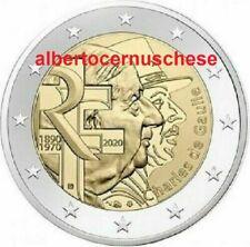 2 euro 2020 FRANCIA Charles de Gaulle France Frankreich França Франция 法国 フランス