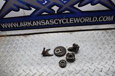 X2-13 LOT OF ENGINE GEAR PARTS 91 SUZUKI KING QUAD RUNNER LT 250 2X4 ATV FREE SH