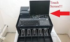 Touch Screen Portable Cash Register Point Of Sale POS Scanner w/ POS Software