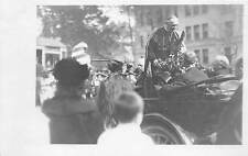2 REAL PHOTO PC's OF BELGIAN CARDINAL MERCER'S 1919 VISIT TO MD & NJ IN AMERICA