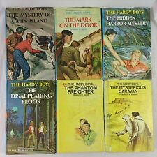 Lot of 6 Hardy Boys Hardcover Books Vintage 1960s 1970s Matte Covers