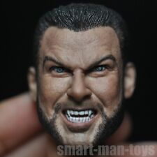 1/6 scale Victor Creed X-men Head Sculpt Logan Wolverine Brother angry face