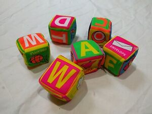 """Toys, Toddler Toys 6 Play Dices 2"""""""