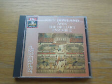 EMI Reflexe JoHm Dowland Ayres The Hillard Ensemble EMI  CDC 7 49805 2
