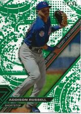 2017 Topps High Tek Chicago Cubs Addison Russell Green Rainbow HT-AR 78/99