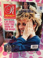 Royalty Magazine 1992 VOL 11 NO 8 - DIANA & SARAH FERGUSON, CAROLINE - NEAR MINT