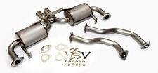 Porsche Boxster Cayman S 987 Stainless Steel Performance Dual Exhaust System