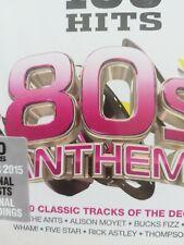 100 Hits 80s Anthems SEALED 5 CD Album Box Set