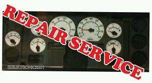 1992 to 2003 INTERNATIONAL TRUCK INSTRUMENT CLUSTER REPAIR SERVICE