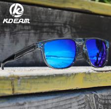 KDEAM Men Women Polarized Sport Sunglasses Square Outdoor Driving UV400 Glasses