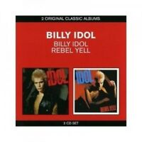 BILLY IDOL - CLASSIC ALBUMS (2IN1) BILLY IDOL & REBEL YELL 2 CD 24 TRACKS NEW!