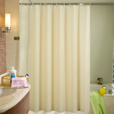 Transparent Shower Curtain Sets Waterproof Mildew Bathroom Decor with 12 Hooks