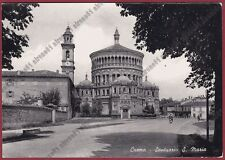 CREMONA CREMA 47 SANTA MARIA Cartolina viaggiata 1953