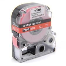 RUBAN CASSETTE 12mm B/R pour Epson LW-300,LW-400