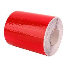 Rouge 3mx5cm Réfléchissant Ruban Adhésif Bande Rouleau Adhésif Voiture Décor NF