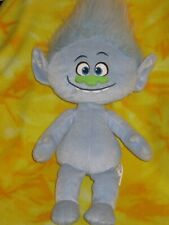 "Trolls Guy Diamond Blue Troll 20""  Plush Stuffed Dreamworks Toy Doll Hasbro HTF"